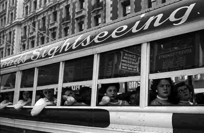 Sightseeing Bus, New York City, 1956
