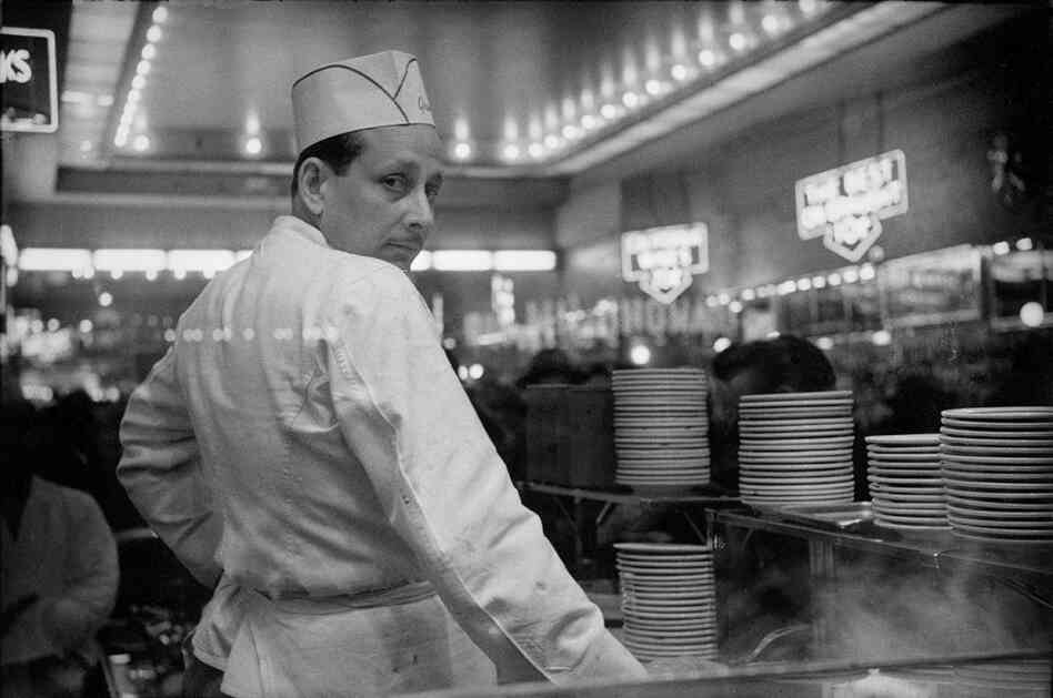 Short Order Cook — Grant's Lunch Counter, New York City, 1974