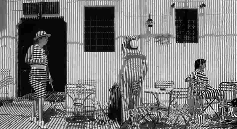 Stripes and Shadows, Paris, 1987