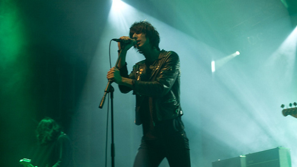 The Horrors at Convention Hall in Asbury Park, N.J., on Saturday.