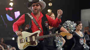 Hank Williams Jr., here seen