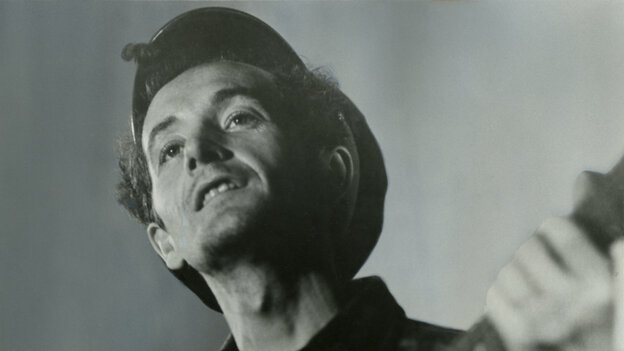 Woody Guthrie is the subject of a new tribute album, Note of Hope.