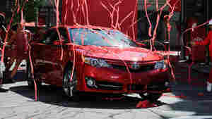 The new redesigned 2012 Toyota Camry is unveiled during a news event on the Paramount Studios lot in Hollywood, Calif.