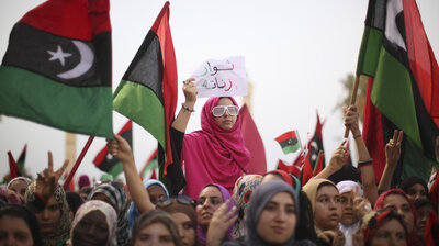Conflict in libya npr post revolution libyan women seek expanded roles sciox Choice Image