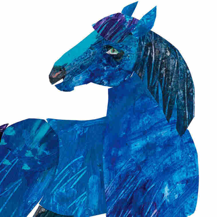 The 'Blue Horse' That Inspired A Children's Book