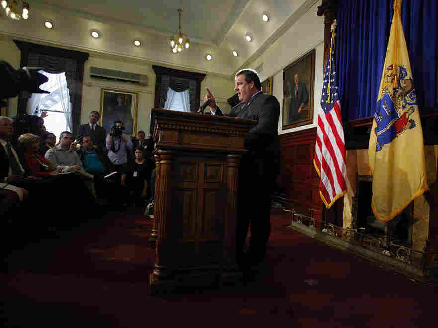 New Jersey Gov. Chris Christie, Oct. 4, 2011.