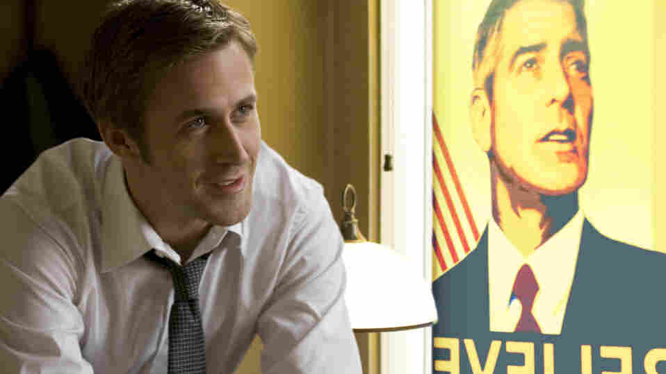 Ryan Gosling plays a cheeky campaign press secretary facing a scandal that could destroy his candidate.