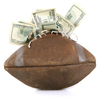 Despite the popularity of college football, according to Frank Deford, only 14 athletic departments show a profit. Why? Because football has to cover the costs of the college sports that lose money.