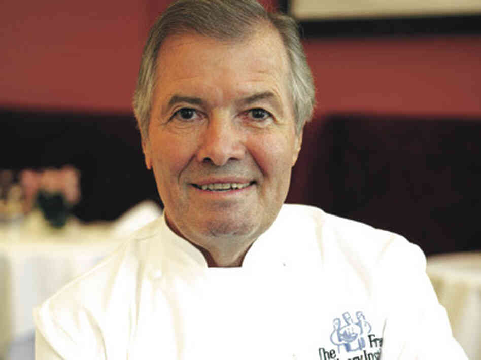 Chef Jacques Pepin was inducted into the French Legion of Honor, his home country's highest civilian honor, in 2004.