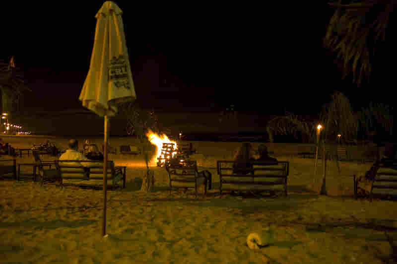 When the weather permitted, there was a bonfire perfect for late-night winding down.