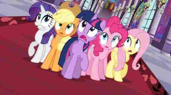 My Little Pony is a Hasbro toy, but it's also a Discovery/Hasbro TV show on The Hub.