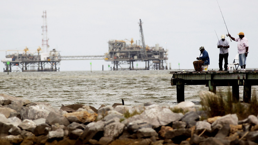 U s regulators promise oversight of offshore drilling for Dauphin island fishing pier