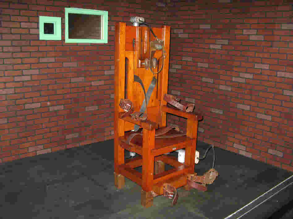 """Old Sparky,"" the decommissioned electric chair in which 361 prisoners were executed between 1924 and 1964, is now housed at the Texas Prison Museum in Huntsville."