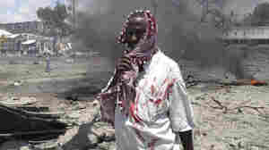 Scores Killed By Truck Bomb In Somalia