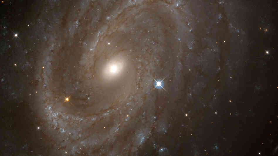 A Nasa Hubble Space Telescope view of Spiral Galaxy Ngc 4603.