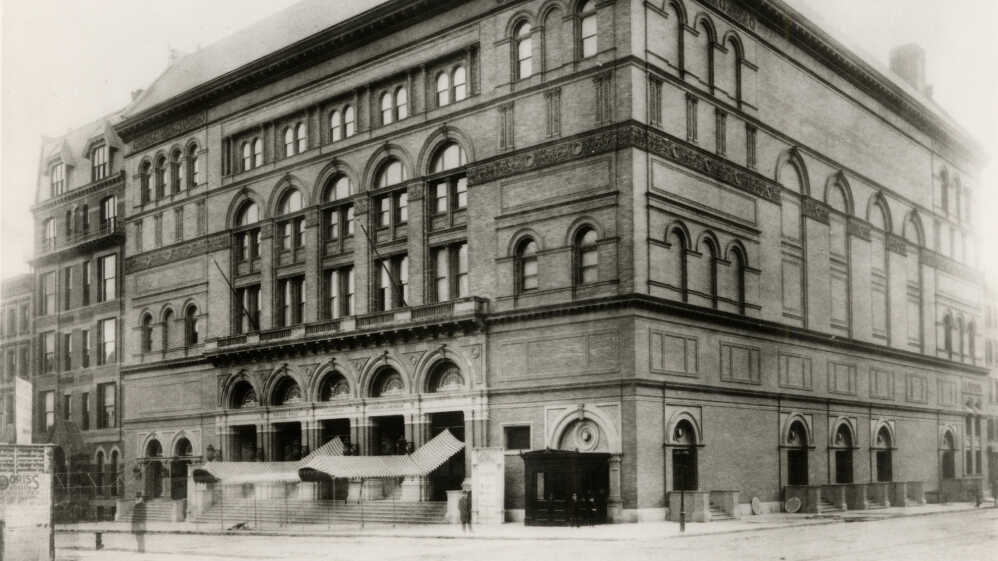 Carnegie Hall: 120 Years, Thousands Of Great Performances