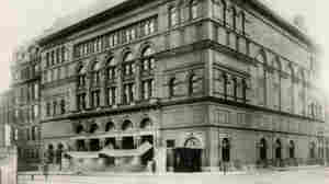 Carnegie Hall in 1891, the year it opened with a concert featuring Tchaikovsky conducting.