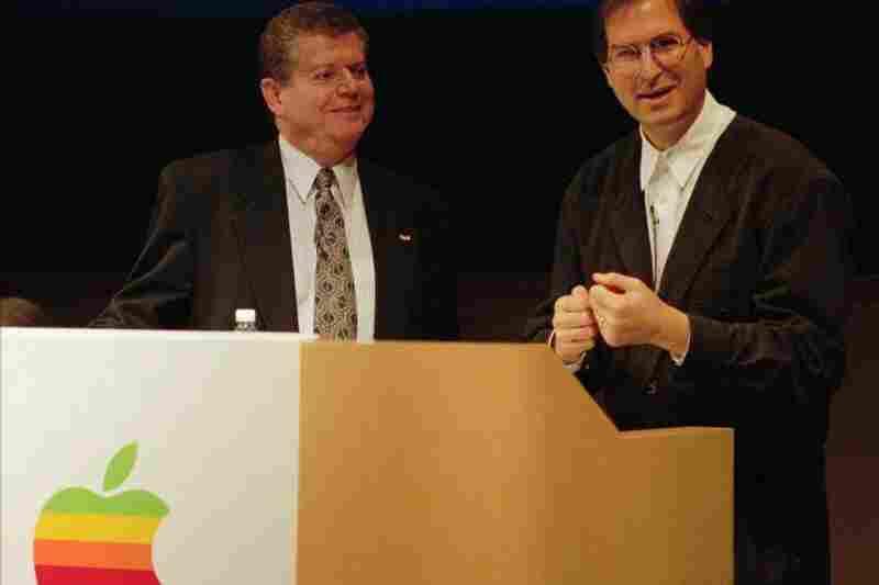 After having left Apple in 1985, Jobs rejoins as an adviser in 1996.