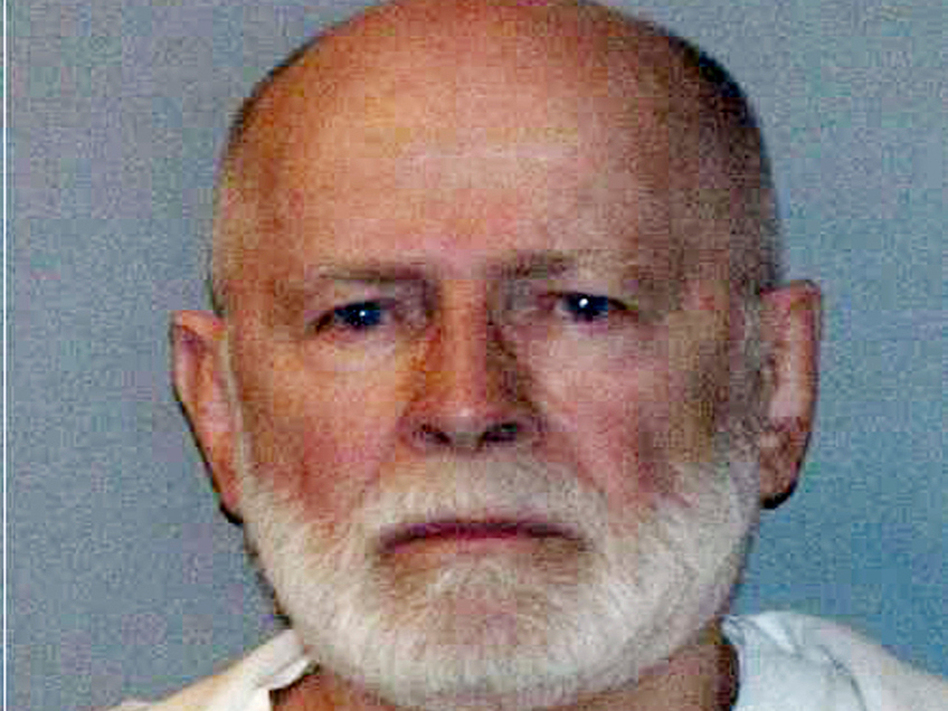 "<p>James ""Whitey"" Bulger, shown here in a June 2011 file booking photo, was captured in Santa Monica, Calif., with his longtime girlfriend Catherine Greig. </p>"