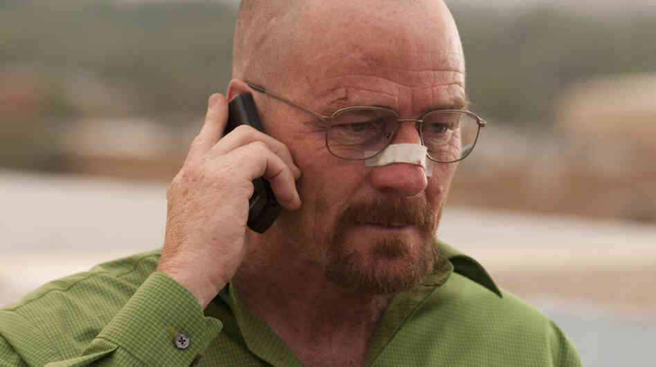 Over the past few seasons, Walter White (Bryan Cranston) has changed from meek hero to forceful villain. TV critic David Bianculli says he isn't just breaking bad anymore...he's entirely broken.