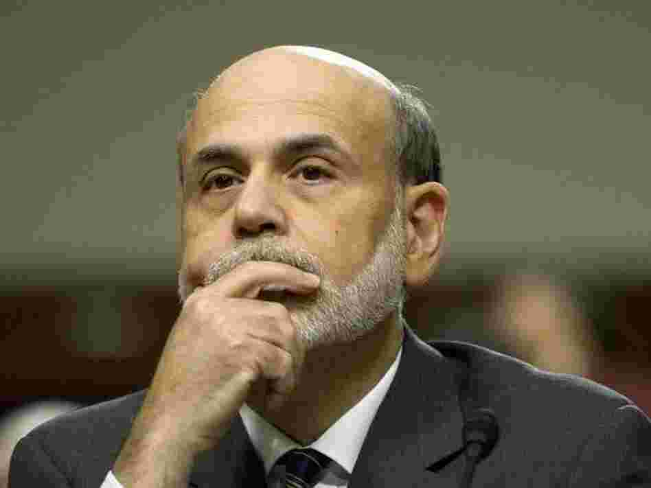 Federal Reserve Chairman Ben Bernanke testifies before the Joint Economic Committee on Capitol Hill in Washington, DC, on Tuesday.