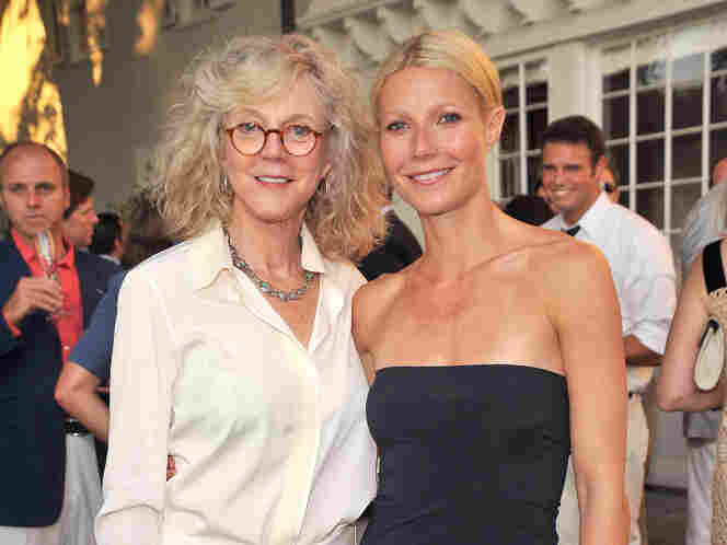 """""""Skinny genes"""": Maybe Gwyneth Paltrow can thank her mom, actress Blythe Danner, for her trimness? Parental weight strongly influences thinness in children, researchers say."""
