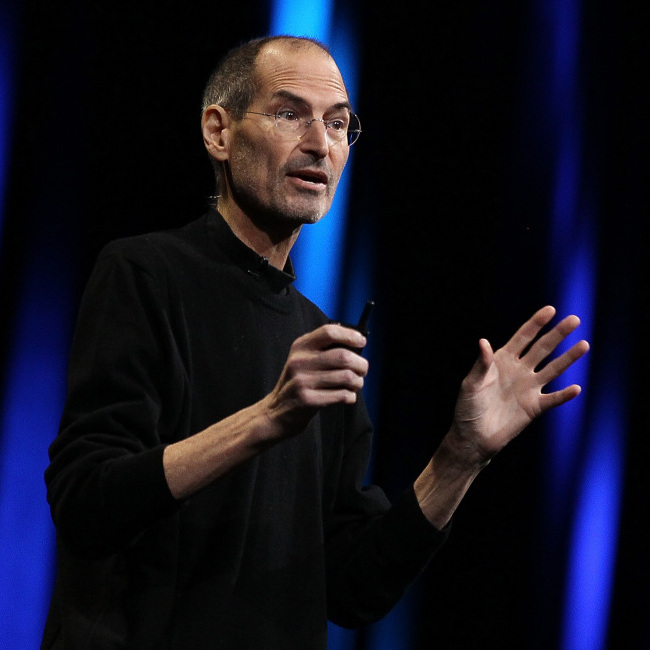Former Apple CEO Steve Jobs has died at age 56. Here, he delivers the keynote address at the 2011 Apple developers conference. For the event, Jobs returned from sick leave to introduce a new iCloud storage system and the next versions of Apple's iOS and Mac OSX.