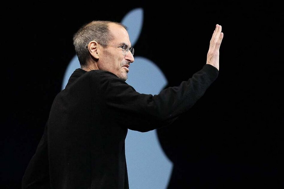 In his last public appearance after stepping down as Apple CEO, Steve Jobs introduces Apple's iCloud storage system in San Francisco, June 2011.  (Getty Images)