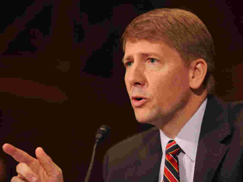 Richard Cordray was approved by the Senate Banking Committee to head the new Consumer Financial Protection Bureau. But Senate Republicans have vowed to filibuster nominees if there aren't changes to the agency.