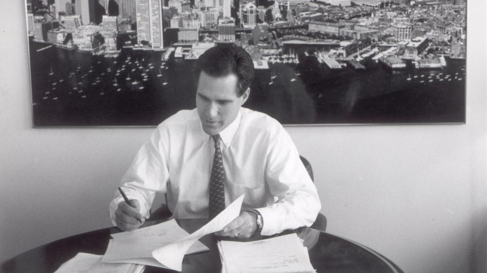 2 Two Portraits Of Mitt Romney, Businessman : NPR