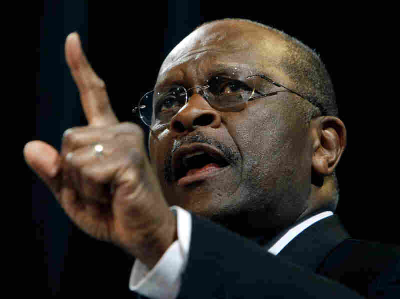 Cain insists that no one should count him out.