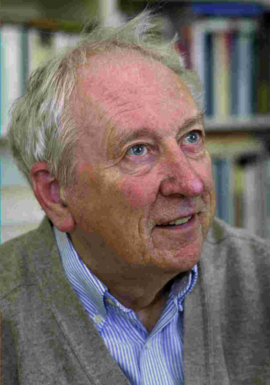 Tomas Transtromer, seen in this undated photo, won the Nobel Prize for Literature on Thursday.