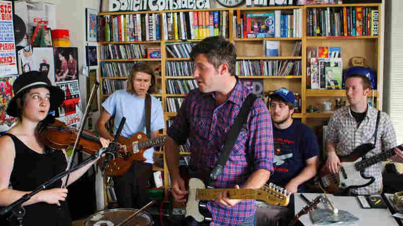 Chris Bathgate: Tiny Desk Concert