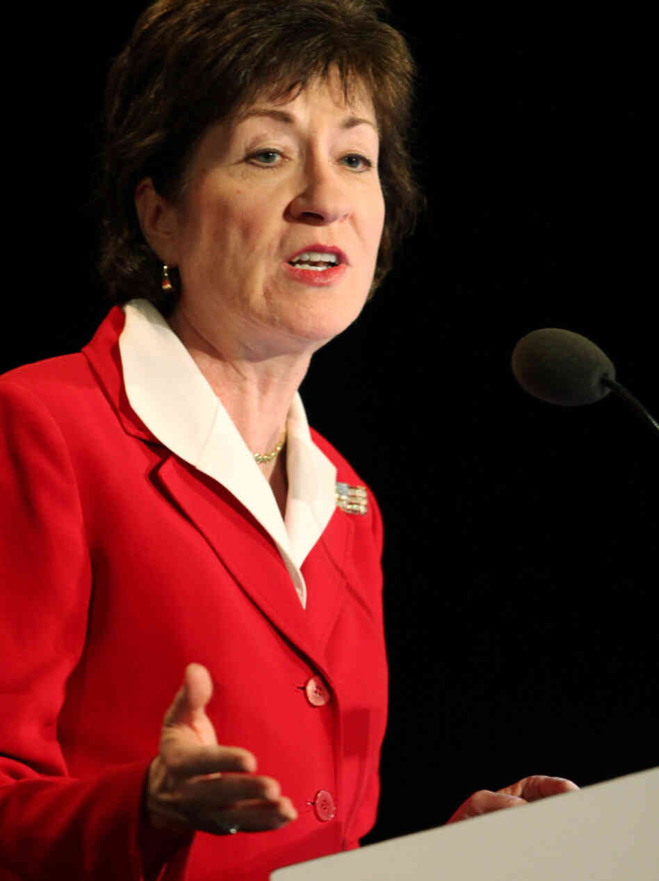 Sen. Susan Collins, R-Maine, is a strong supporter of spuds in schools