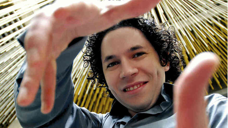 Los Angeles Philharmonic Music Director Gustavo Dudamel.