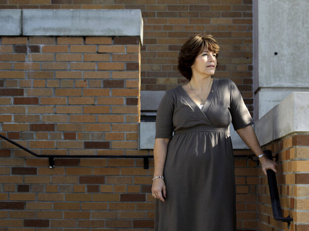 Jackie White of Branchville, N.J., is a breast cancer survivor and a DES daughter who lives in Centerburg, Ohio. She says she had a misshaped uterus and reproductive problems.