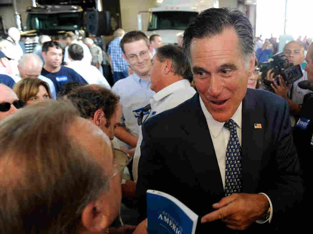 Mitt Romney in North Las Vegas, Nev., Sept. 6, 2011.