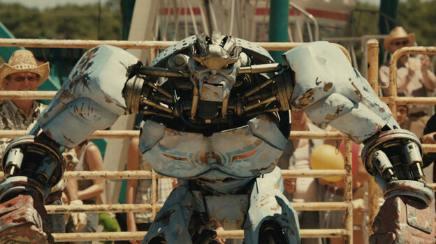 Ambush the robot is one of the combatants in Real Steel.