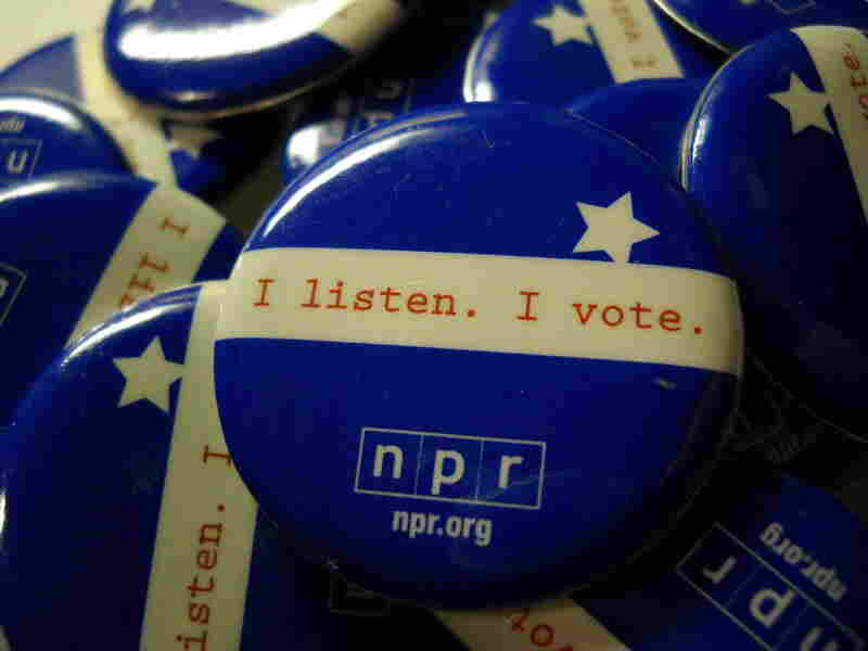 NPR's 2008 Election Buttons