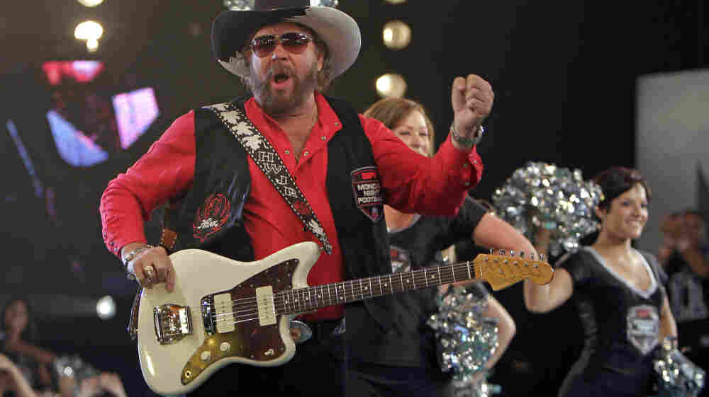 Hank Williams Jr., here seen promoting Monday Night Football.