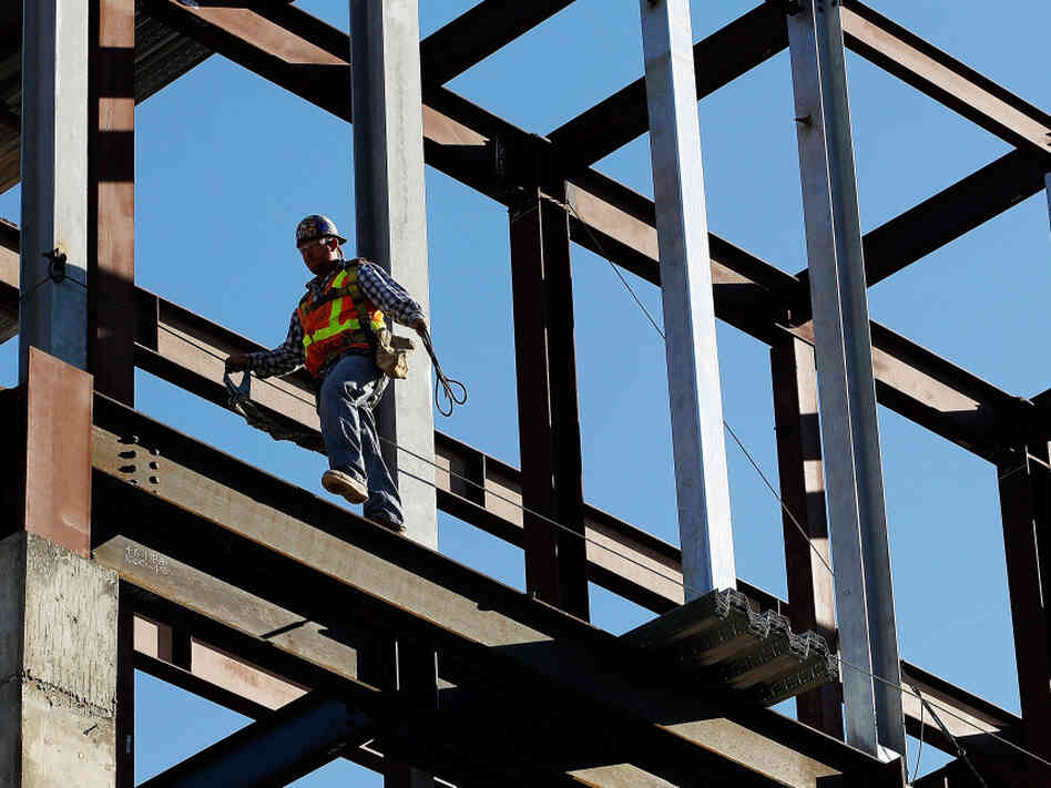 The construction sector added 26,000 jobs in September, reversing a drop a month earlier.