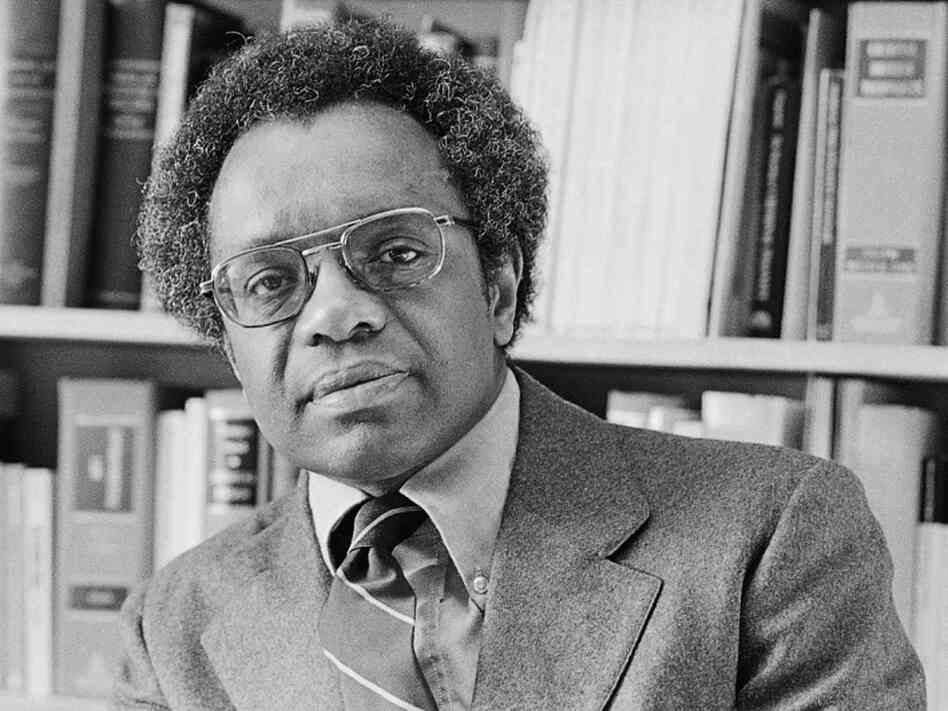 Professor Derrick Bell, a civil-rights advocate and legal scholar, died Wednesday at age 80. Bell, shown above in 1980, was the first tenured black professor at Harvard Law School.