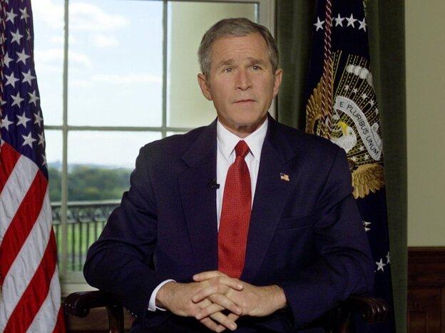 Treaty Room White House George W Bush