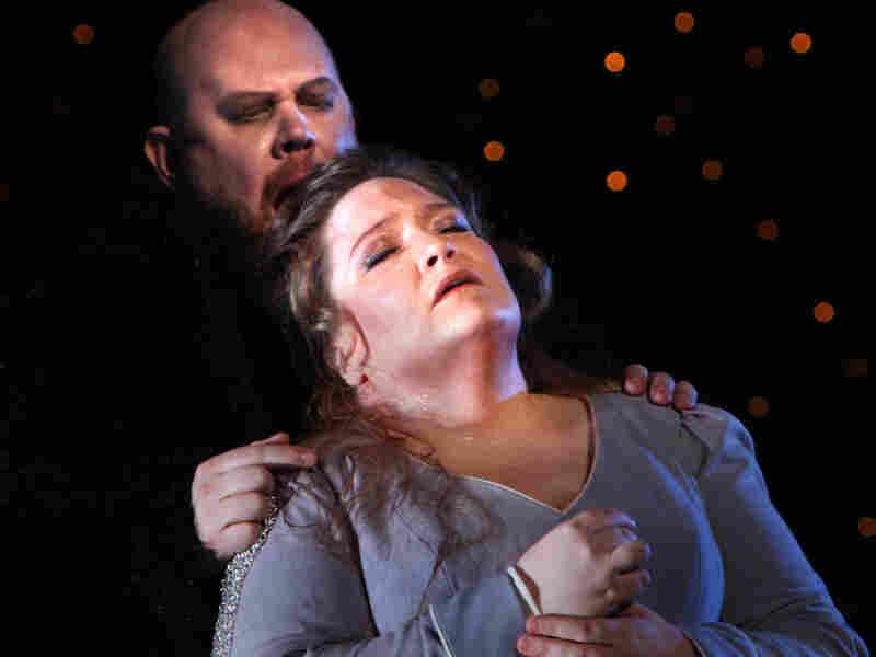 "Jennifer Wilson, Alan Held and Jennifer Wilson in the Washington National Opera's 'The Flying Dutchman,"" March 2008."