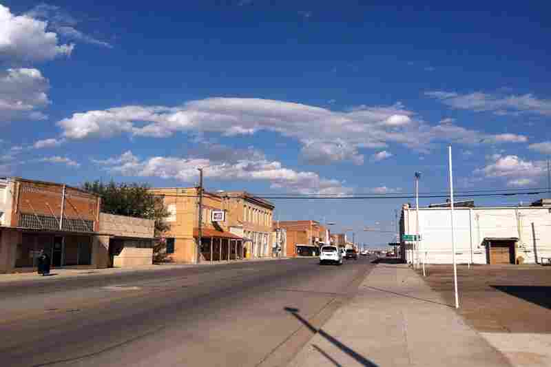 Downtown Haskell, the nearest city to Paint Creek, is still sleepy.
