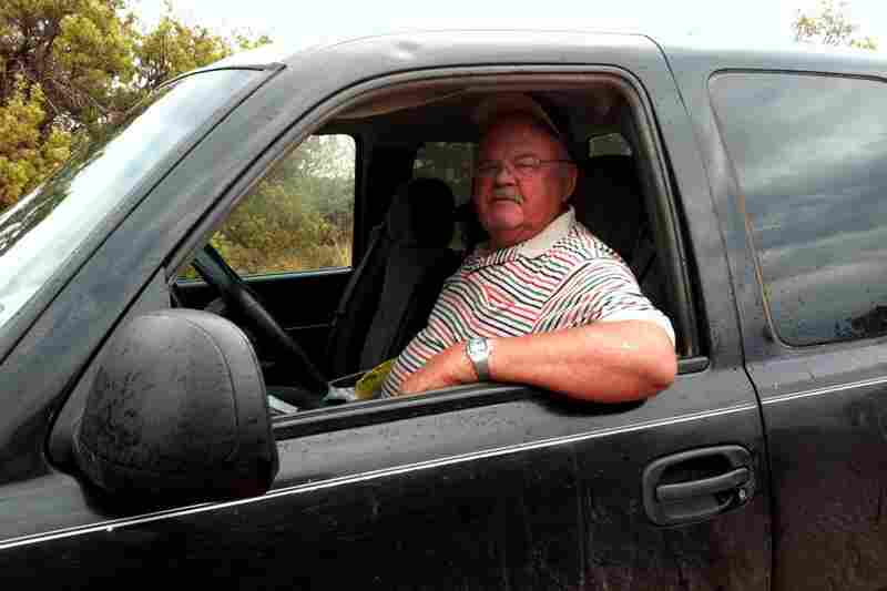 Wallar Overton, a lifelong friend of Perry's, set out to look for lost cows and a bull on a remote part of his land in Paint Creek. He drove past dry, parched grass, too dry for the cattle to eat.
