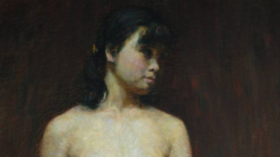 <p>Chinese artist Wang Yanqing says he was one of several art students who painted this model in a class in 1983. It appears that one of those paintings was falsely billed as being the work of a famous Chinese artist, and auctioned off for more than $11 million last year. </p>