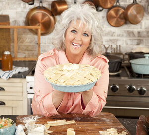 Paula Deen is the host of the Food Network's Paula's Home Cooking and Paula's Best Dishes. She tells NPR's Steve Inskeep that while her recipes are known for their bacon and butter, she and her family don't indulge in them every day.