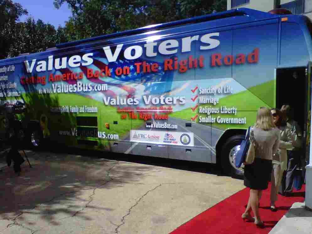 The Values Voter Summit bus.