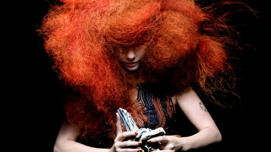 Bjork's new album, Biophilia, is also an interactive multimedia project. (Inez van Lamsweerde & Vinoodh Matadin)